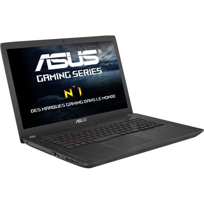 Asus pc portable fx753ve gc092t 17.3 intel® core™ i7 stockage 1to 128go ssd nvidia geforce gtx 1050ti