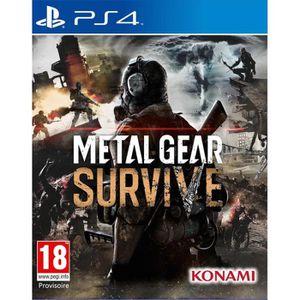 JEU PS4 Metal Gear Survive Jeu PS4