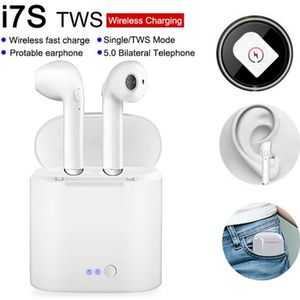 OREILLETTE BLUETOOTH  i7S TWS Casque d'écouteurs sans fil  mini-écouteu
