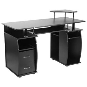 MEUBLE INFORMATIQUE Table d'ordinateur Bureau Informatique meuble PC t