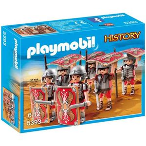 UNIVERS MINIATURE PLAYMOBIL 5393 - History - Bataillon Romain