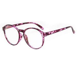 LUNETTES DE VUE HT Lunettes Unisexe Monture de lunettes rétro Rond
