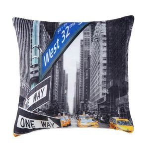 coussin new york achat vente coussin new york pas cher. Black Bedroom Furniture Sets. Home Design Ideas