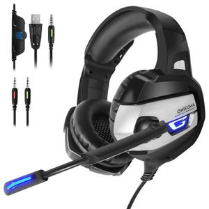 JEU XBOX ONE Casque Gaming, Micro Casque Gamer pour Ps4 Xbox On