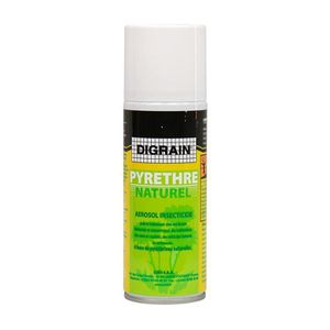 PRODUIT INSECTICIDE Aérosols insecticides digrain au Pyrèthre (200 ml)