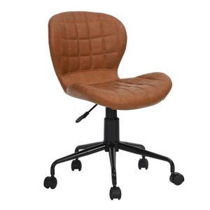 CHAISE DE BUREAU Chaise de bureau, Chaise pivotante sans accoudoirs