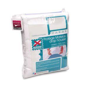 PROTÈGE MATELAS  Protège matelas 140x190cm ANTONIN Molleton absorba