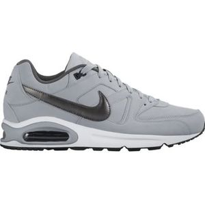 BASKET NIKE Baskets Air max Command Leather - Homme - Gri