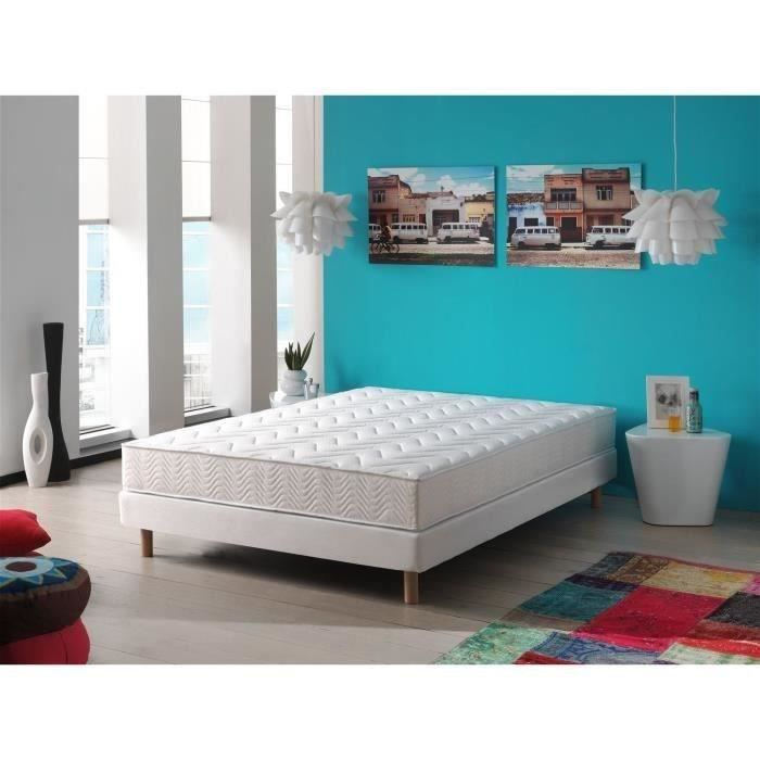 deko dream matelas maine 140x190 cm mousse ferme 24 kg m 2 personnes achat vente. Black Bedroom Furniture Sets. Home Design Ideas