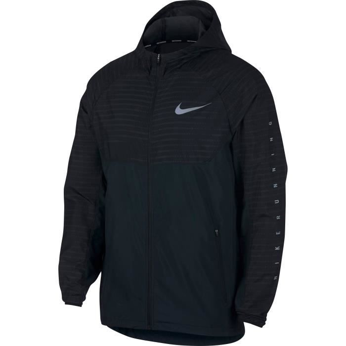 NIKE Sweat-shirt Essential Hood - Homme - Noir