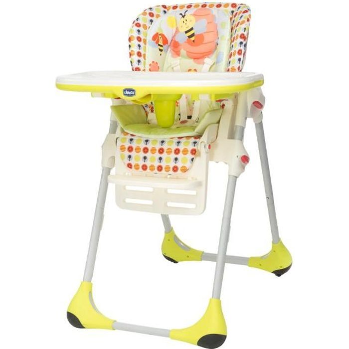 CHICCO Chaise Haute Polly 2 in 1 Sunny