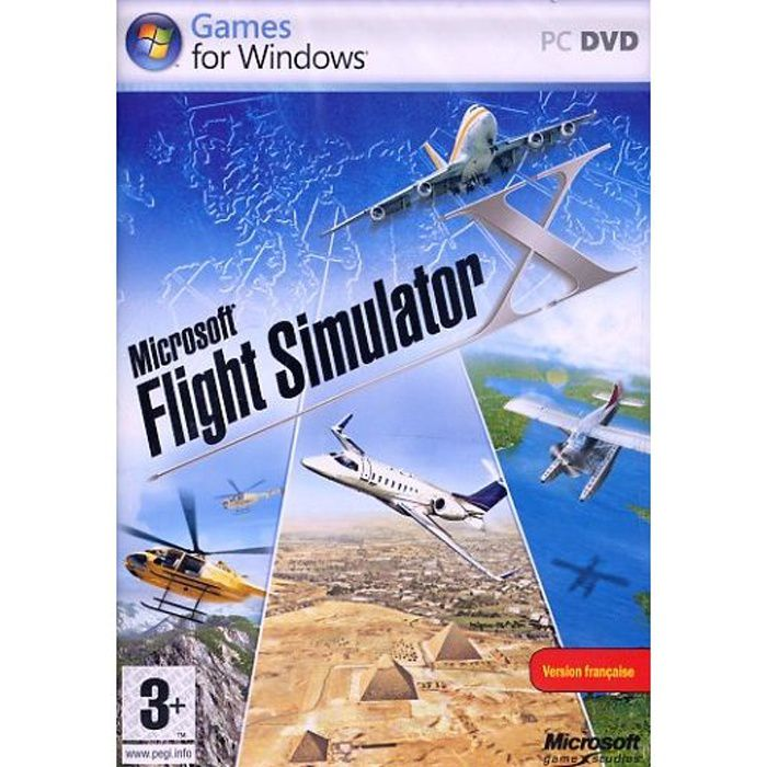 flight simulator x jeu pc achat vente jeu pc flight simulator x jeu pc cdiscount. Black Bedroom Furniture Sets. Home Design Ideas