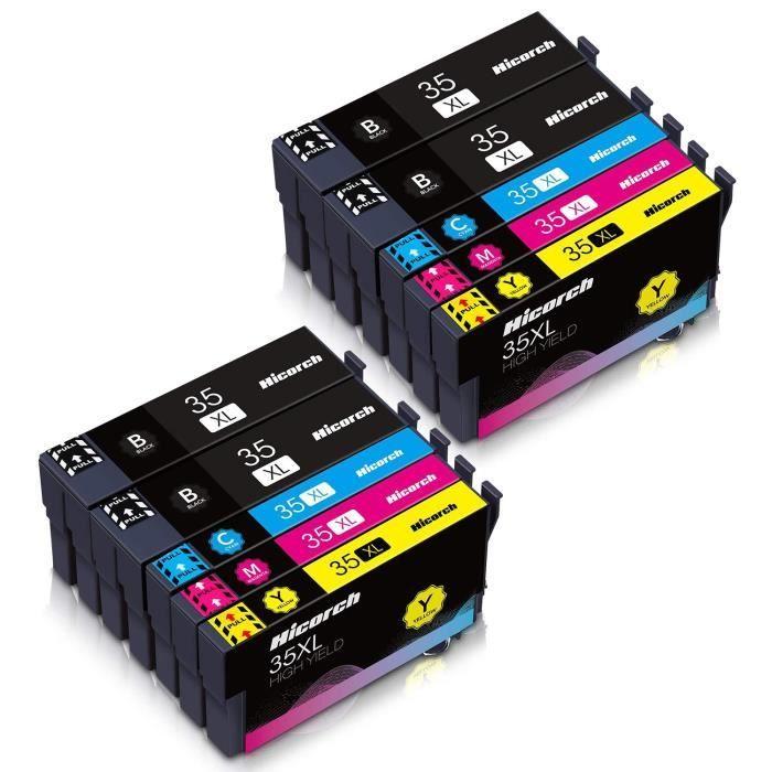 Cartouche d encre 35XL 35XL Compatible pour Epson 35 XL avec Epson WorkForce Pro WF-4740DT WF-4720