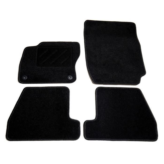4011MAISON BEST•Ensemble de tapis de voiture 4 pcs,Set Tapis de Sol pour Voiture pour Ford Focus III