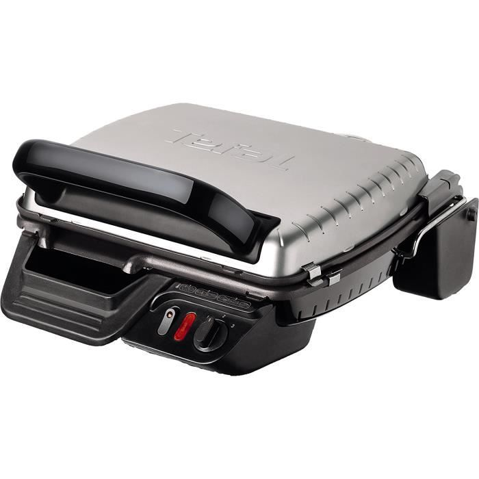 GRILL ELECTRIQUE Tefal UltraCompact Health Grill Classic GC3050124