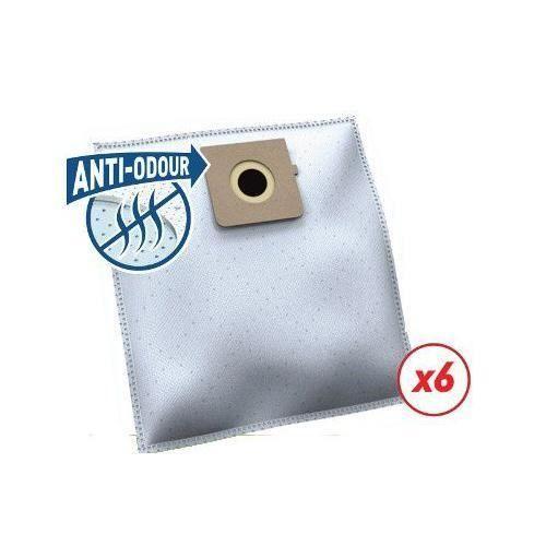 Temium Sac aspirateur PL104SN ANTI-ODEUR 6 SACS - 3663004301930
