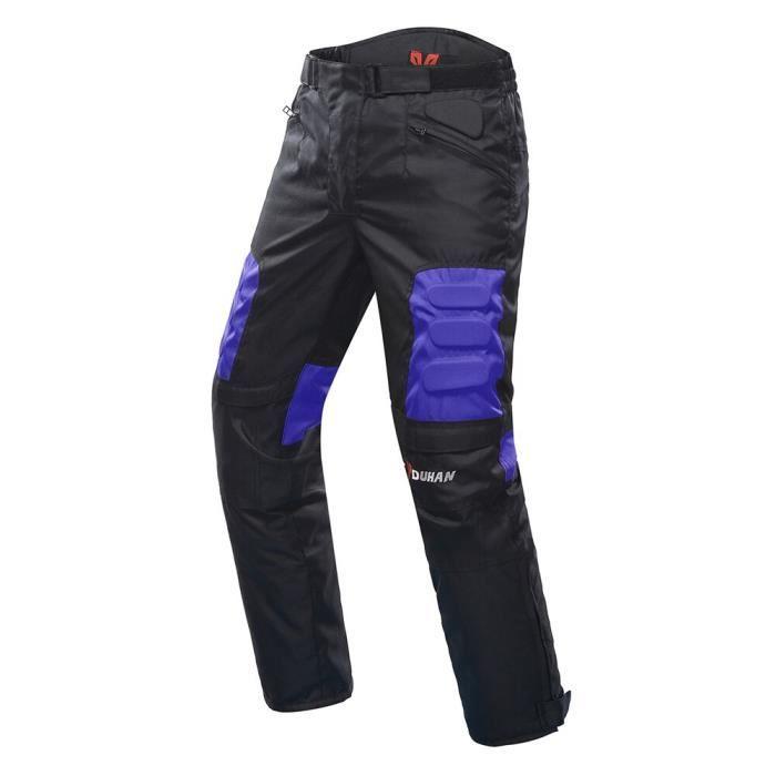 DUHAN Hommes Équipement de protection Pantalon de motocross Pantalon d'équitation de moto