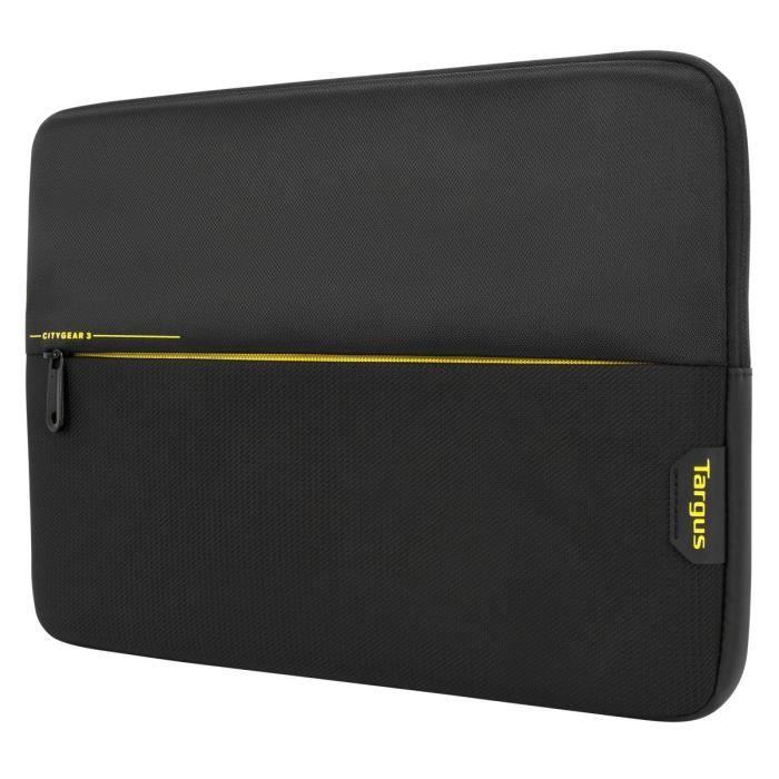 Targus CityGear 3 Sleeve 11.6- Noir - Etui matelassé pour ordinateur portable (jusqu'à 11.6-) et tablette ( Catégorie : Sacoche PC