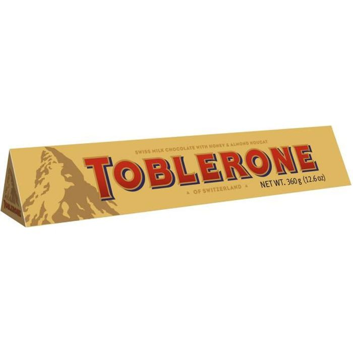 Chocolat au lait toblerone 360gm