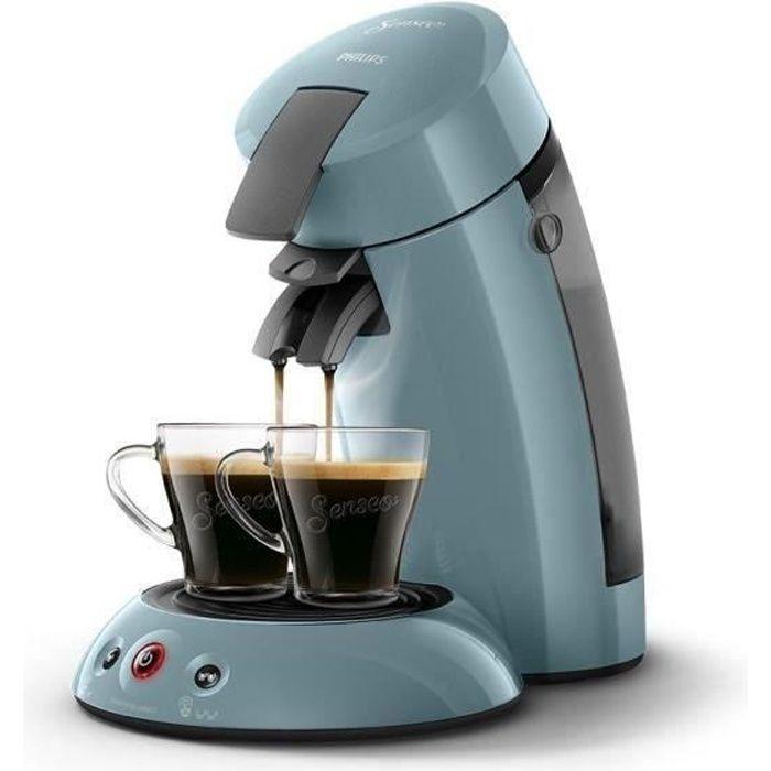 PHILIPS HD6553/21 Machine à café à dosettes Senseo Original - Bleu gris