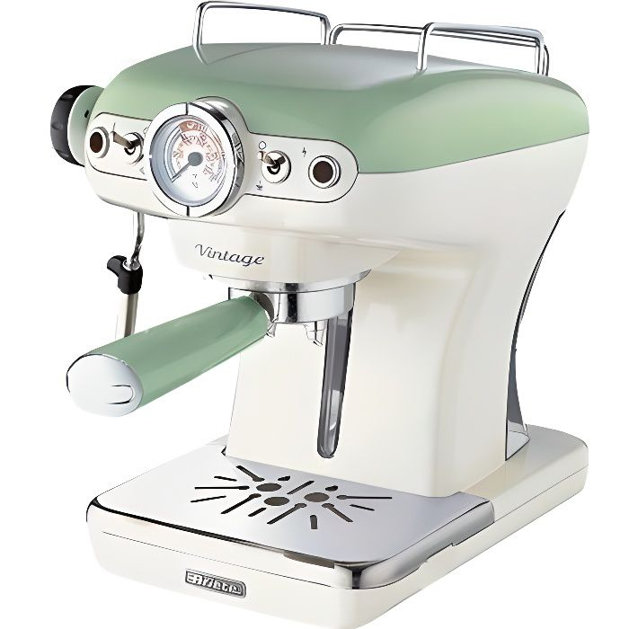 MACHINE À CAFÉ ARIETE 1389 Machine expresso classique Vintage - V