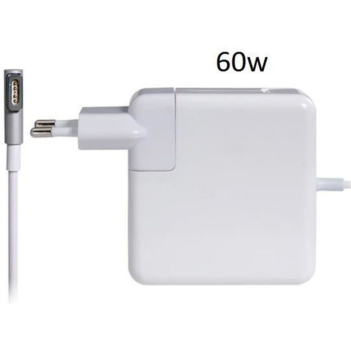 chargeur alimentation 5 pin macbook pro 60w achat. Black Bedroom Furniture Sets. Home Design Ideas