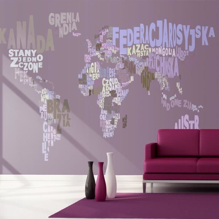 affiche g ante poster xxl carte du monde 150x105 cm 3 l s achat vente affiche. Black Bedroom Furniture Sets. Home Design Ideas