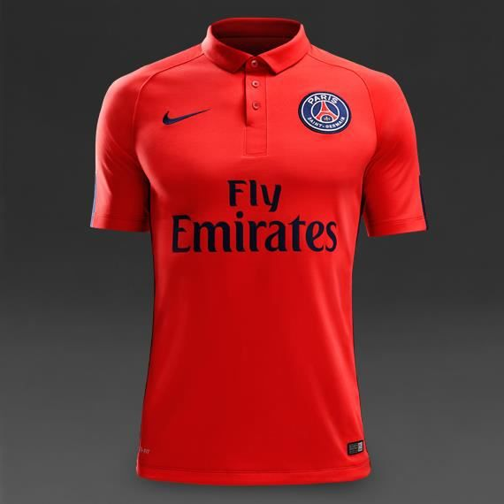 maillot psg paris saint germain third 2014 2015 achat vente maillot polo de sport. Black Bedroom Furniture Sets. Home Design Ideas