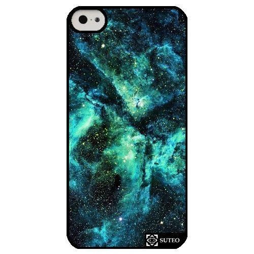 Coque Iphone 5c – Galaxie Vert - ref 660 - Achat coque - bumper ...