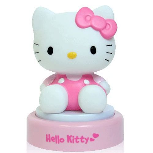 lampe veilleuse 3d hello kitty achat vente lampe pvc. Black Bedroom Furniture Sets. Home Design Ideas