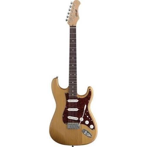 STAGG Guitare Electrique S 3/4 Naturel Satiné