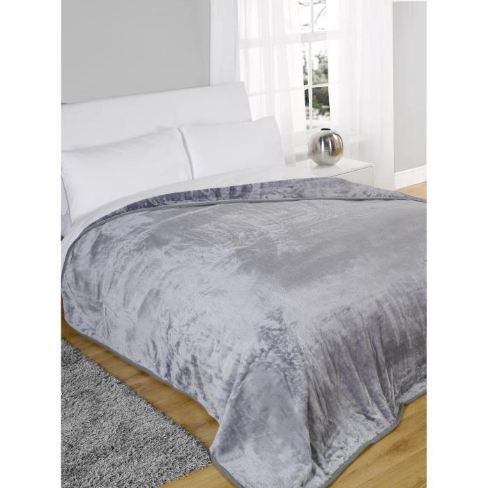 Couverture polaire de luxe en peluche jette canapé-lit grande couverture chaude Double King