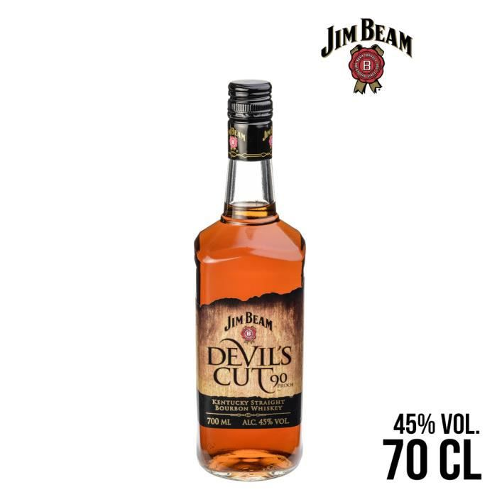 WHISKY BOURBON SCOTCH WHISKY JIM BEAM DEVIL'S CUT 70CL