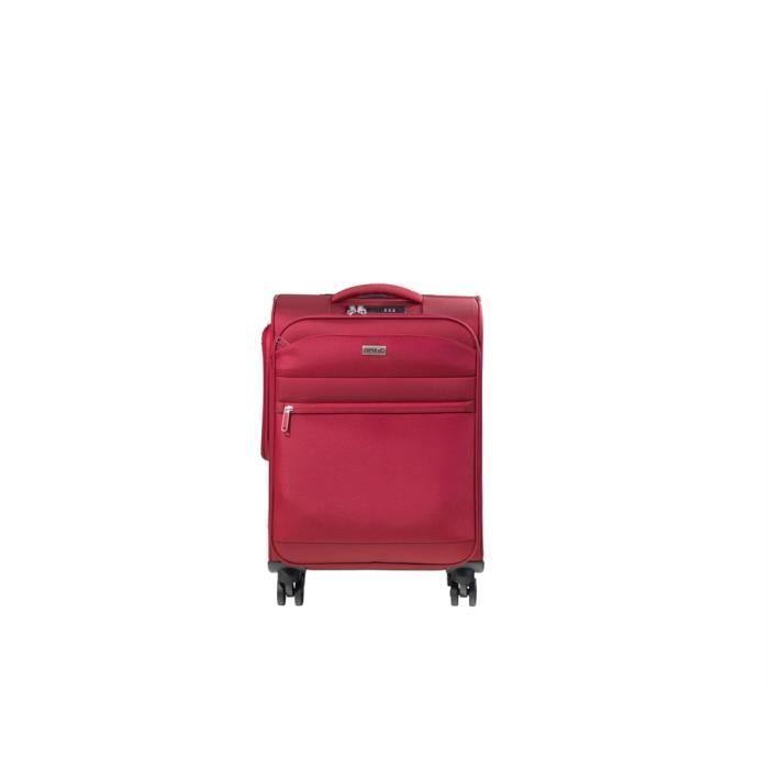 VALISE - BAGAGE Valise JUMP Cabine TOLEDO TL03 Rouge