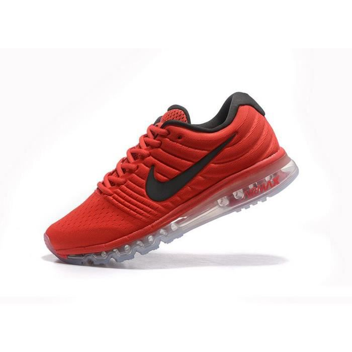 nike blanche rouge homme chaussures