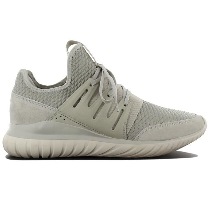 adidas Originals Tubular Radial BB2398 Chaussures Homme Sneaker Baskets Blanc