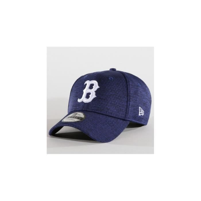 38742e75d440f Casquette de Baseball MLB Boston Red Sox New era Dry Switch 9Forty  Adjustable Bleu