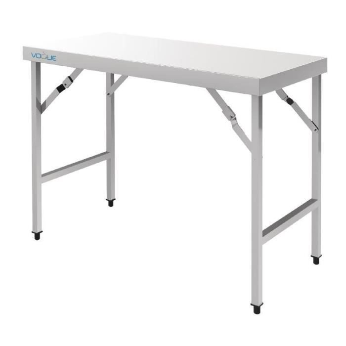 80m pliante 1 INOX table Vogue Grande orxCdeBWQ