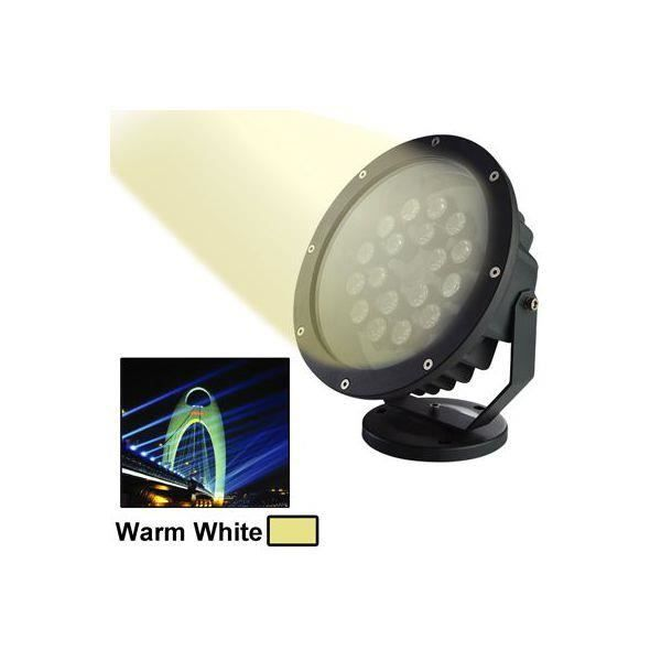 Projecteur led blanc chaud ext rieur clairage jardin for Eclairage exterieur maison led