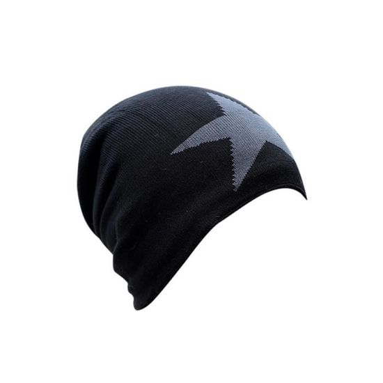 Hommes Chaud Baggy tisser Crochet Hiver Laine Tricoté Ski Baggy Beanie Casquettes Hat Gift