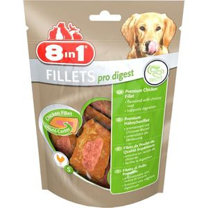 FRIANDISE 8in1 Filets de poulet séchés Pro Digest enrichis e