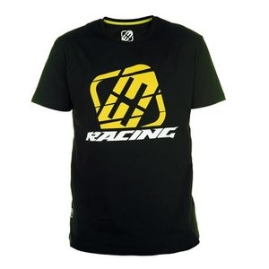FREEGUN T-shirt Homme Racing - Noir / Blanc