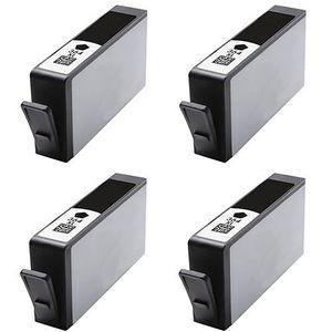 CARTOUCHE IMPRIMANTE Pack 4 x HP 364 XL  Cartouches Compatible Noire…