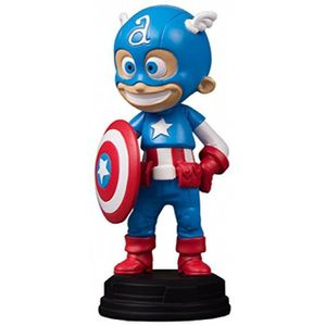 DVD FILM Gentle Giant Captain America Marvel Statue animée,