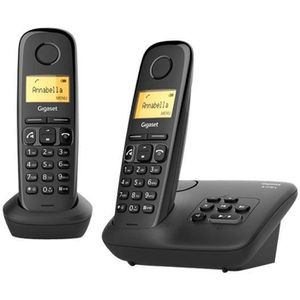 Téléphone fixe Gigaset A270A Duo Téléphone sans fil système de ré