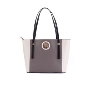Sac Tote Hwvg7186230taupe Guess Femme Polyuréthane Gris kwP0nO