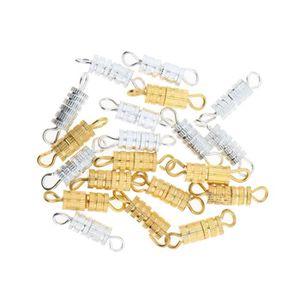 APPRÊTS  APPRET 20 pcs vis fermoir pour collier bracelet pi