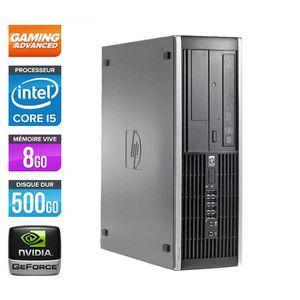 UNITÉ CENTRALE  HP 8300 -Gamer -Core i5-3470 -8Go-NVIDIA GTX 750Ti