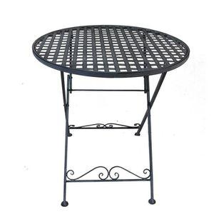 TABLE DE JARDIN  Table De Jardin En Fer