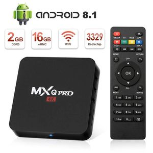 BOX MULTIMEDIA Android tv box 4k HD MXG PRO RK3229 Android 8.1 2G